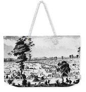 Australia: Gold Rush, 1851 Weekender Tote Bag