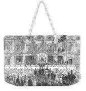 Australia: Melbourne, 1863 Weekender Tote Bag