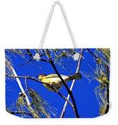 Australian Figbird Weekender Tote Bag
