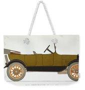 Auto: Chevrolet, 1919 Weekender Tote Bag
