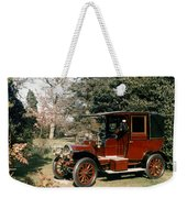 Auto: French Taxi, 1908 Weekender Tote Bag