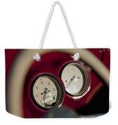 Auto Meter Dashboard Guages Weekender Tote Bag