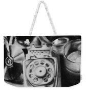Autobiographical Still Life Weekender Tote Bag
