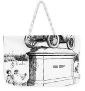 Automobile Cartoon, 1914 Weekender Tote Bag