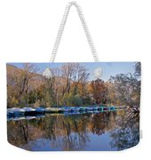 autum at the Lake Maggiore Weekender Tote Bag by Joana Kruse
