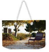 Autum At The Park Weekender Tote Bag