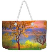 Autum Morning Weekender Tote Bag