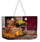 Autumn - Gourd - Autumn Preparations Weekender Tote Bag by Mike Savad