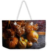 Autumn - Gourd - Still Life With Gourds Weekender Tote Bag by Mike Savad