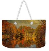 Autumn - Landscape - Tamaques Park - Autumn In Westfield Nj  Weekender Tote Bag