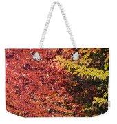 Autumn Arrival Weekender Tote Bag