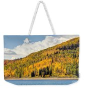 Autumn At Huntington Reservoir - Wasatch Plateau - Utah Weekender Tote Bag