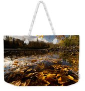 Autumn At Ragged Falls Weekender Tote Bag