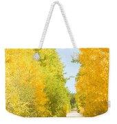 Autumn Back County Road Weekender Tote Bag