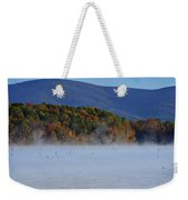Autumn Backdrop Weekender Tote Bag