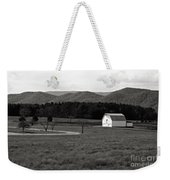 Autumn Barn In Green Bank Wv Bw Weekender Tote Bag