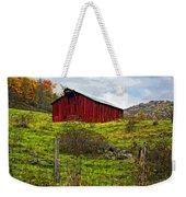 Autumn Barn Painted Weekender Tote Bag