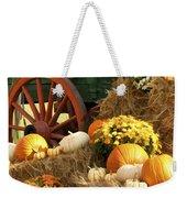 Autumn Bounty Vertical Weekender Tote Bag