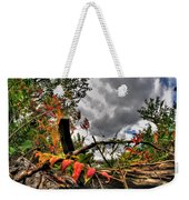Autumn Breeze Through The Trees Weekender Tote Bag