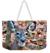 Autumn Buck Weekender Tote Bag