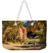 Autumn Campground In Blacksmith Fork Canyon - Utah Weekender Tote Bag