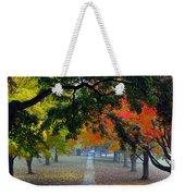 Autumn Canopy Weekender Tote Bag