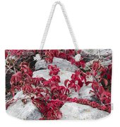 Autumn Color Is Red Weekender Tote Bag