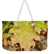 Autumn Color Palette Weekender Tote Bag by JAMART Photography