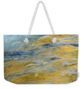Autumn Colors Reflected In Stream Weekender Tote Bag