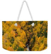 Autumn Colour And Waterfalls, Cape Weekender Tote Bag