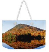 Autumn Colours Reflected In Water Weekender Tote Bag