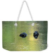 Autumn Creek Reflections Weekender Tote Bag