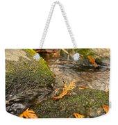 Autumn Creek Weekender Tote Bag