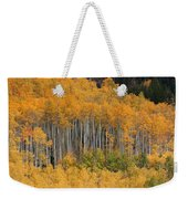 Autumn Curtain Weekender Tote Bag