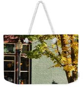 Autumn Detail In Old Town Grants Pass Weekender Tote Bag