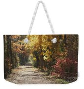 Autumn Dreams With Texture Weekender Tote Bag