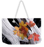 Autumn Driftwood 2 Weekender Tote Bag