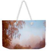 Autumn Fairytale. Misty Roads Of Scotland  Weekender Tote Bag