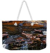 Autumn Falls 2 Weekender Tote Bag