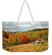 Autumn Farm 2 Weekender Tote Bag