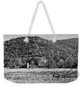 Autumn Farm Monochrome Weekender Tote Bag