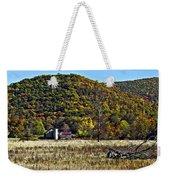 Autumn Farm Painted Weekender Tote Bag