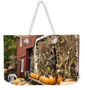 Autumn Farm Stand  Weekender Tote Bag