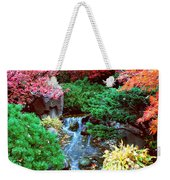 Autumn Garden Waterfall I Weekender Tote Bag