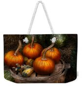 Autumn - Gourd - Pumpkins And Some Other Things  Weekender Tote Bag