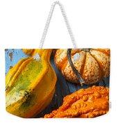 Autumn Gourds Still Life Weekender Tote Bag
