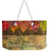 Autumn Greeting Card IIi Weekender Tote Bag