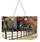Autumn Greetings Weekender Tote Bag
