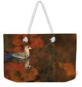 Autumn Gull Weekender Tote Bag