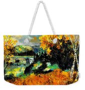 Autumn In Ardennes 672101 Weekender Tote Bag